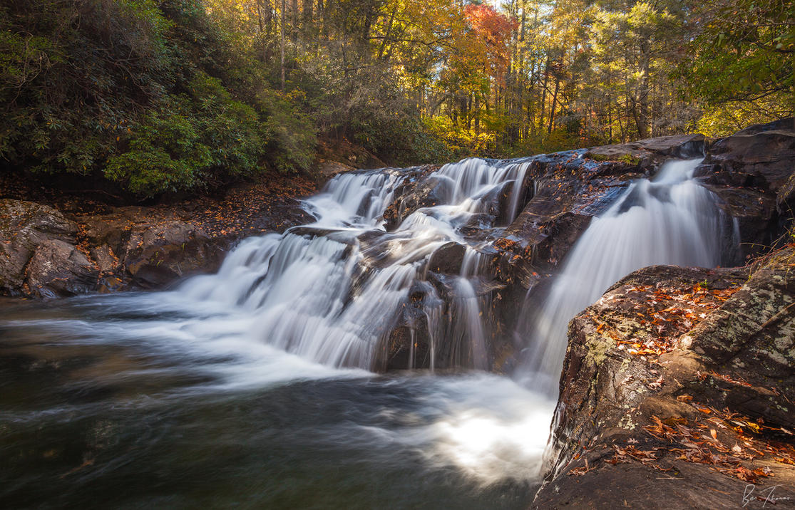 Dick's Creek Falls by rctfan2