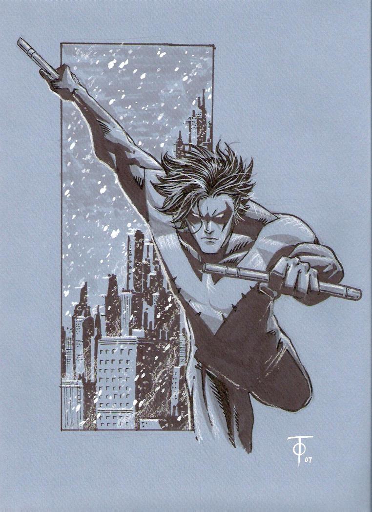 Flying Grayson by 0boywonder0