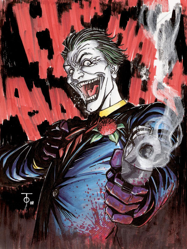 http://fc05.deviantart.net/fs32/i/2008/200/9/d/What__re_you_laughing_at__by_0boywonder0.jpg Comic Joker Painting
