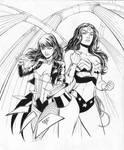 Zatanna and Wonder Woman