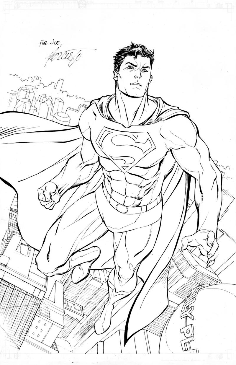 Superman for a friend by 0boywonder0 on deviantart - Dessin de superman ...