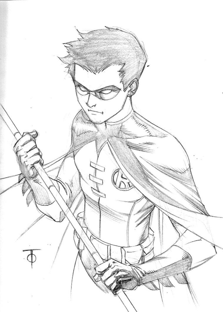 cool robin coloring pages - photo#47