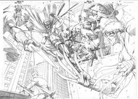 Red Robin 6 double page spread by 0boywonder0