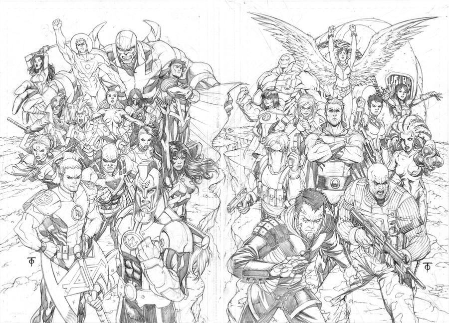 Part 14 / 10 WildCats___Authority_covers_by_0boywonder0
