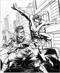 Nightwing vs Jason Todd