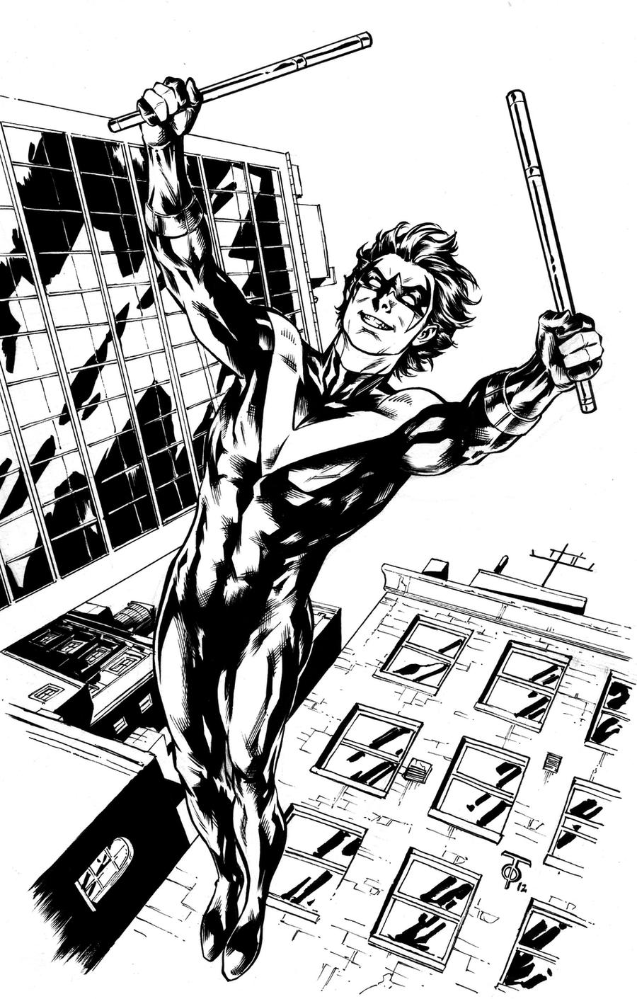 Nightwing by 0boywonder0