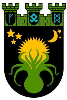 Coat of arms of the City of Zeiggard by CastleGreifenghast