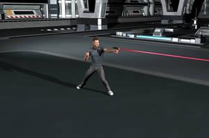 Hand-Laser Gun Test (Updated)