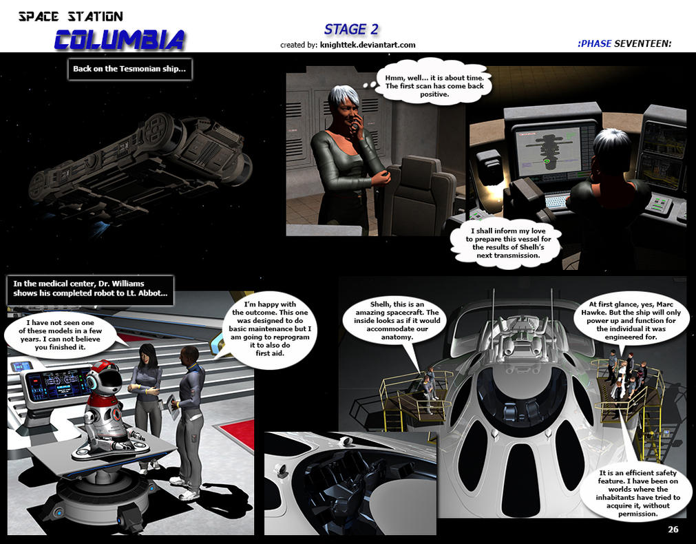 Space Station Columbia - Stage 2 - page 26 by KnightTek