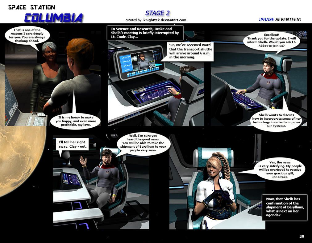 Space Station Columbia - Stage 2 - page 29 by KnightTek