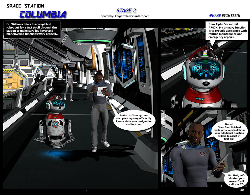 Space Station Columbia - Stage 2 - page 30 by KnightTek
