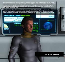 Bio - Lt. Marc Hawke by KnightTek