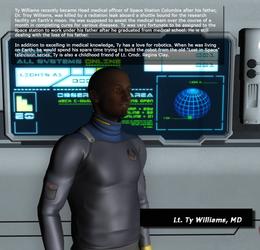 Bio - Lt. Ty Williams, MD by KnightTek