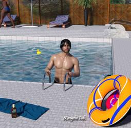 Alexander's Pool Time by KnightTek