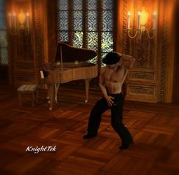 He Dances by KnightTek