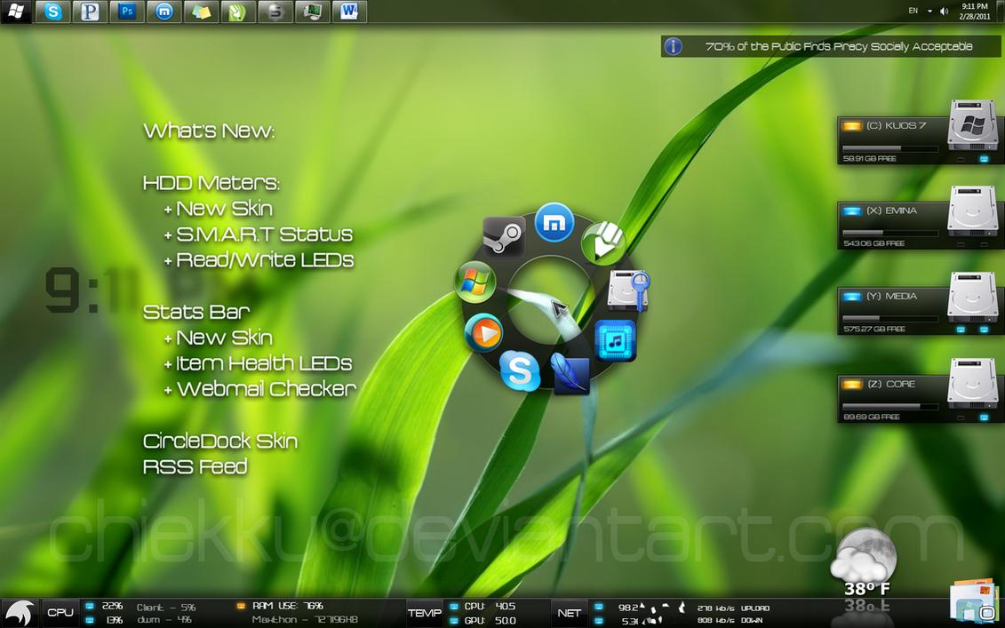 KUOS - Windows 7 Enhanced by ChiEkku