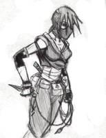 ninja girl by ninja-taco