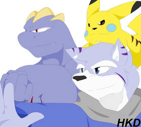 Team Frostdeathore by HiKazeDragon