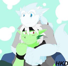 Someone Needs A Hug by HiKazeDragon
