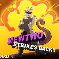 Mewtwo Strikes Back by HiKazeDragon