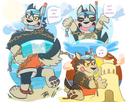 Summertime with Garmr