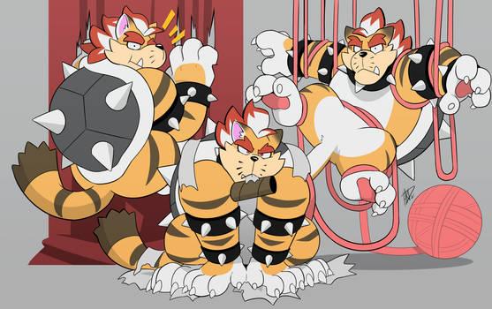 One Troublesome Koopa-Cat