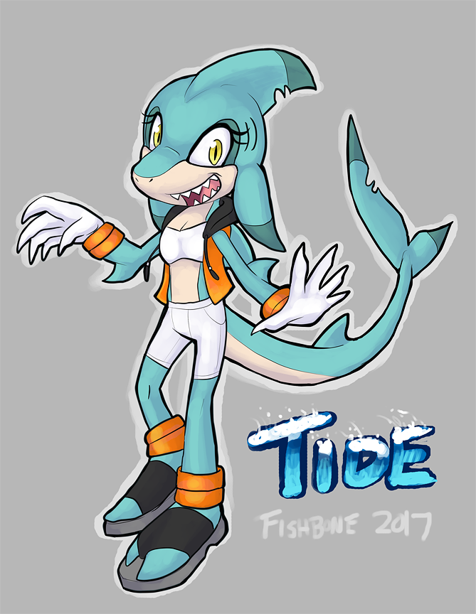 Tide the Shark by Toastbat