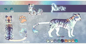 Tiger Adoptable auction// Nieve// CLOSED