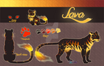 Tiger Adoptable auction//Lava//CLOSED