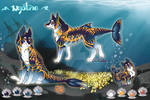 Neptune/ fish Canine Adoptable/ AUCTION (CLOSED)