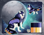 Space Wolf adoptable (auction)// CLOSED
