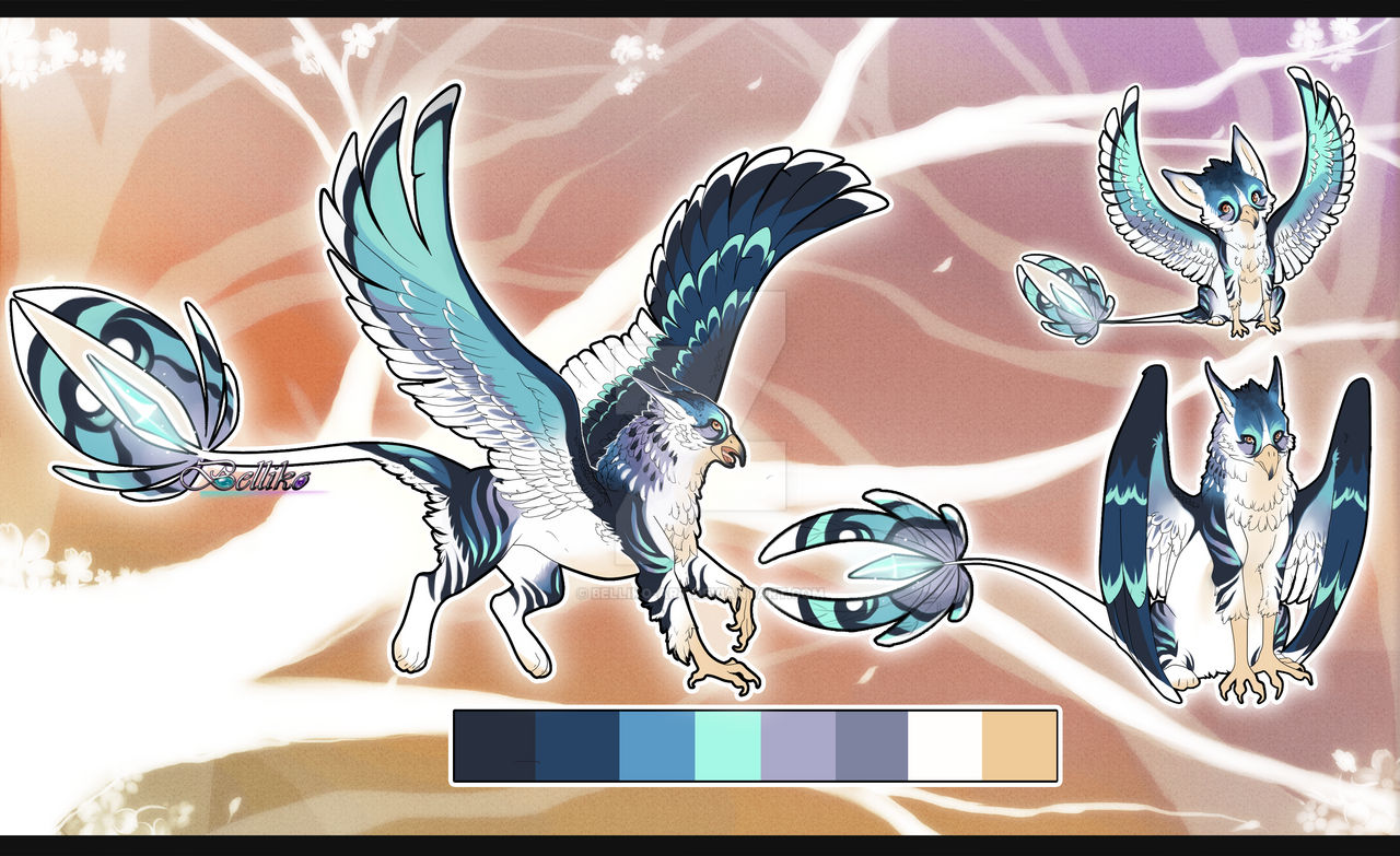 Blue Jay Gryphon//Auction//CLOSED