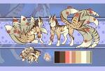 Spring kitsune//Auction// CLOSED