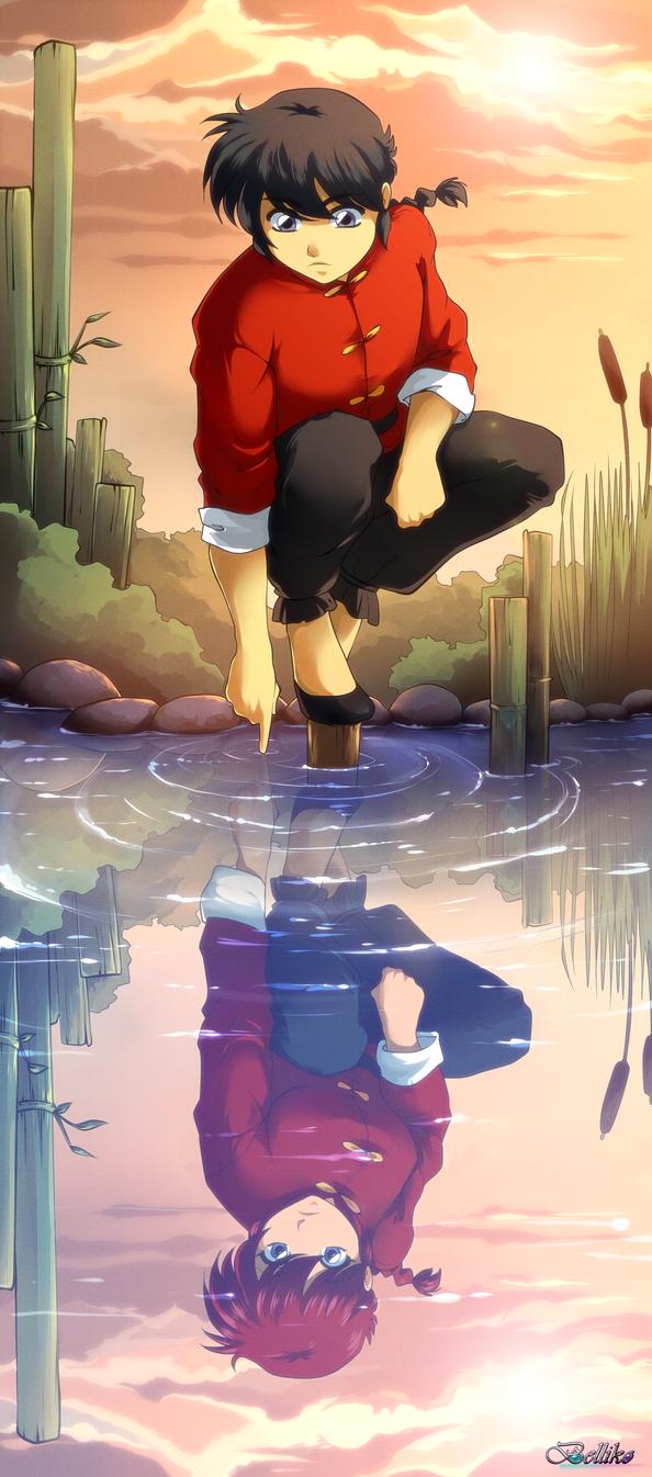 Ranma1/2 by Belliko-art