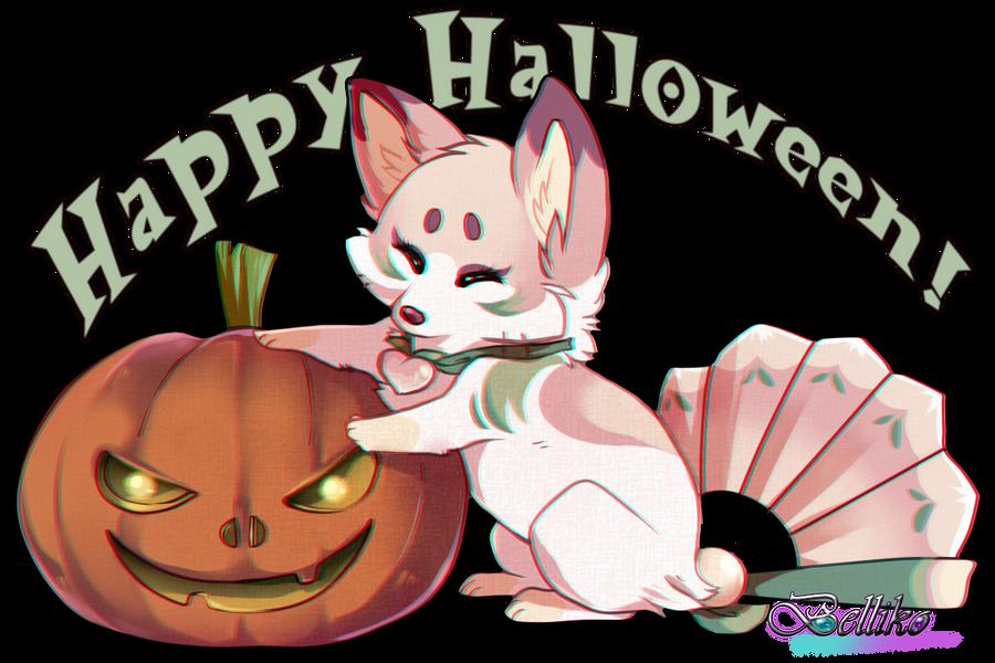 Happy Halloween! by Belliko-art