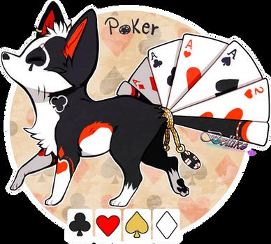 Poker Foxfan Auction // CLOSED
