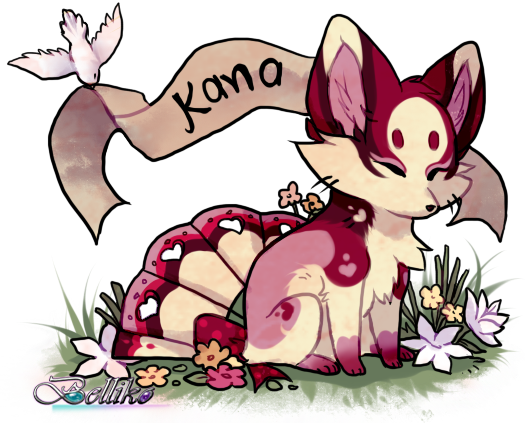 Kana, Foxfan of the Month by Belliko-art