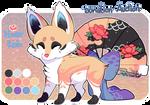 Flower Rain Foxfan // AUCTION // CLOSED!