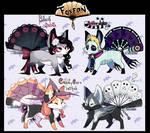 Foxfan Halloween Batch 1 // 4/4 CLOSED!