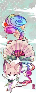 Momo the Foxfan