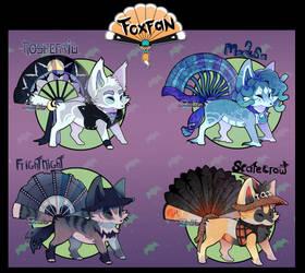 Foxfan Halloween 2017, AUCTION CLOSED