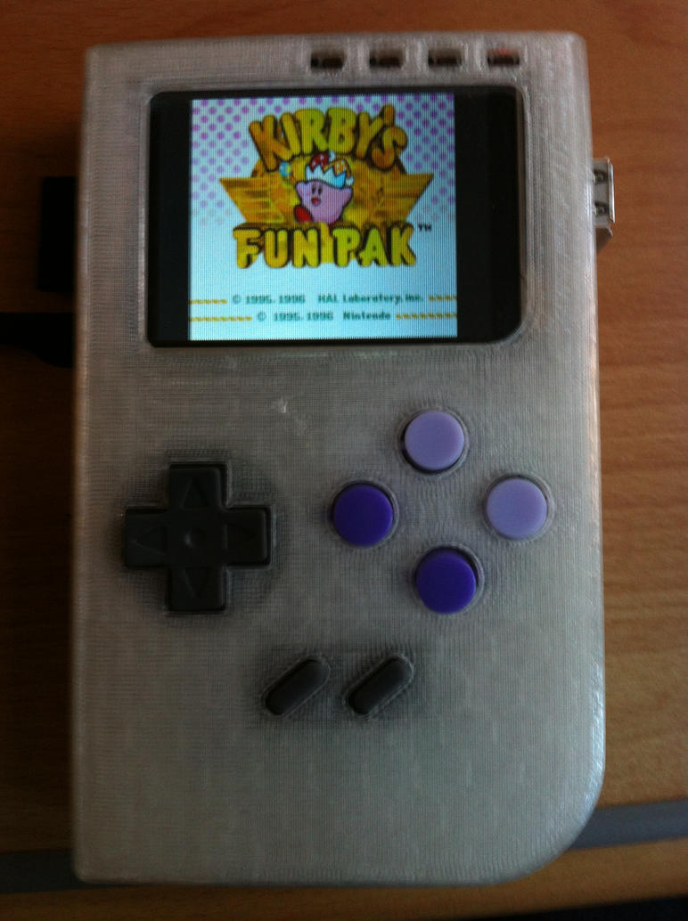PiMO Handheld Emulator running SNES games by IvanLux