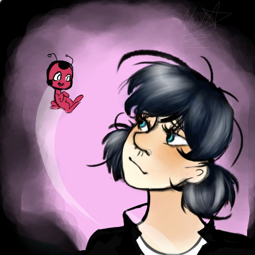 Marinette and Tikki by Despicable5mee