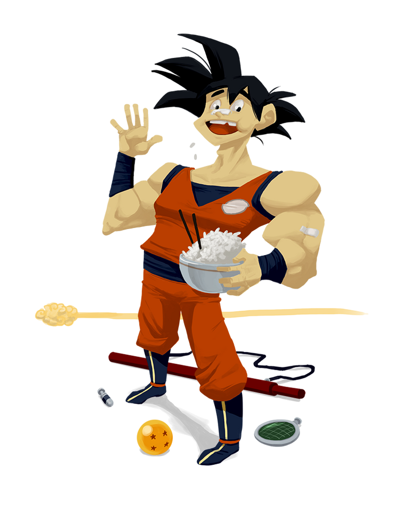Goku by pabloyungblut