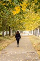 Walking in Autumn by nadril83