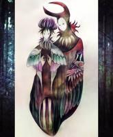 eerie couple by TenWalker