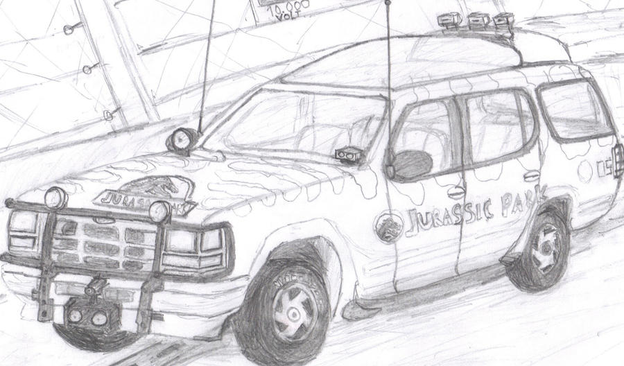 1993 ford explorer in jurassic park by pd21x on deviantart