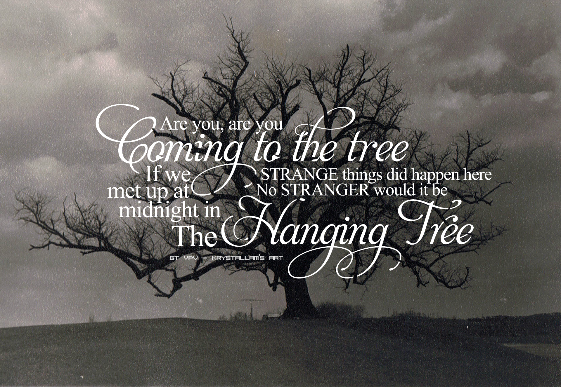 the hanging tree The hanging tree was the tyburn gallows which stood where marble arch stands today oxford street was the last trip of the condemned some things don't change the place has a bloody and haunted legacy and now blood has returned to the empty mayfair mansions of the world's super-rich and blood.