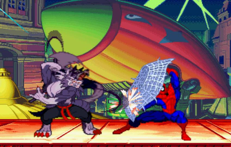 Infinity Tournament: Jon Talbain vs Spiderman by Guillaume101