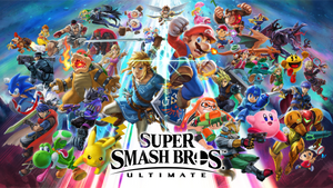 Super Smash Bros Ultimate by Guillaume101